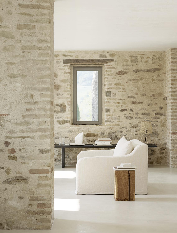 Curve Linen Sofa Collection