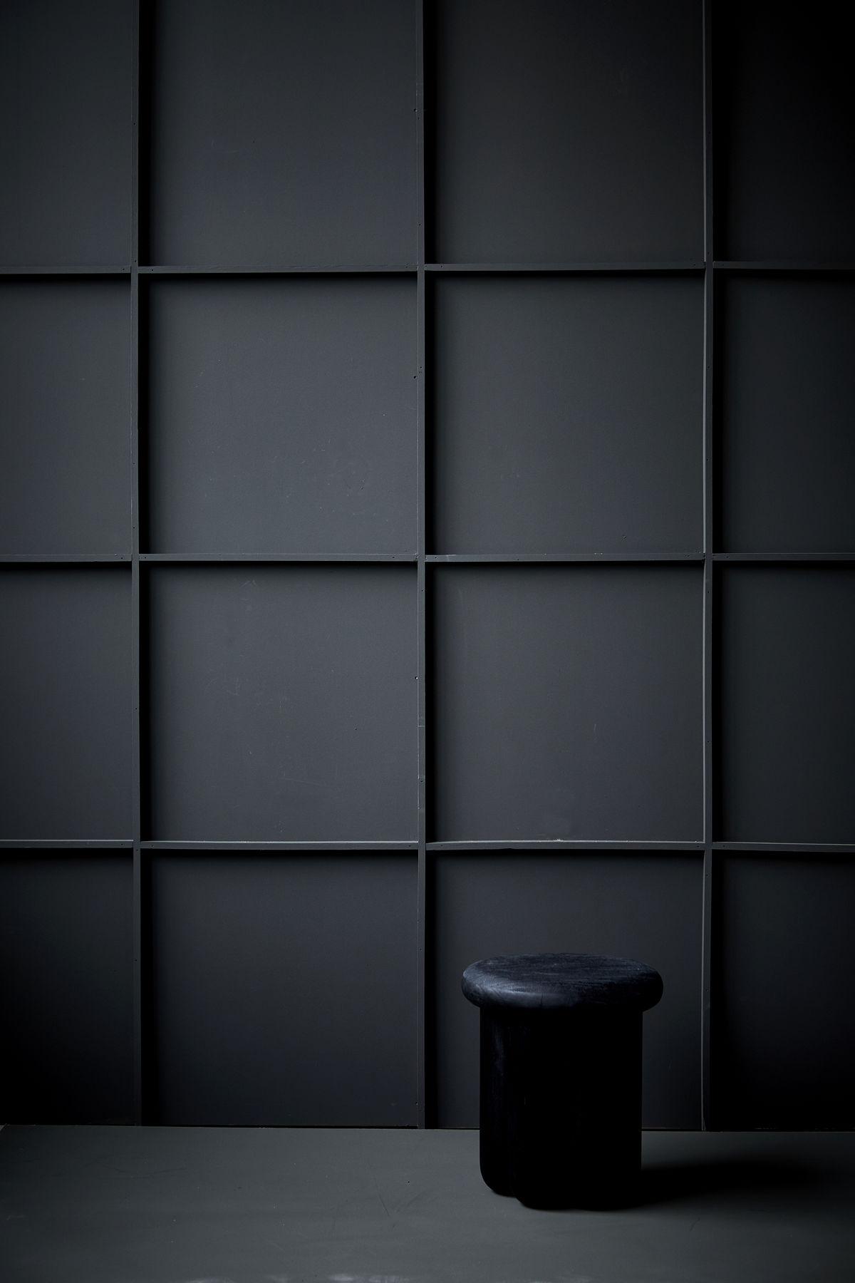 Dark Panelled Wall